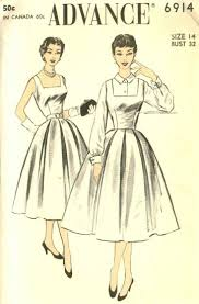 1950s Dress Patterns Beauteous 48's Patterns And Images