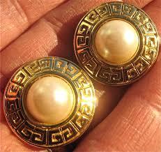 vine givenchy designer earrings