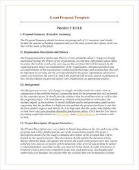 12 Grant Proposal Outline Templates Pdf Psd Word