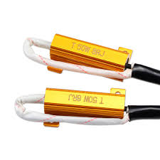 2pcs led bulb load resistor decoder canbus error wire harness 2pcs led bulb load resistor decoder canbus error wire harness adapter 50w 8ohm dc12v for