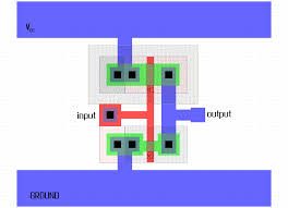 Inverter Layout Design E77 Lab 3 Laying Out Simple Circuits
