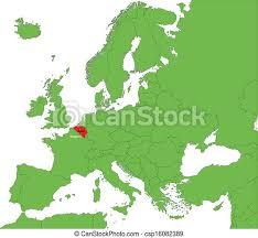 ¿os estáis preparando para viajar en holanda? Belgica Mapa Europa