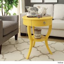 Burkhardt Tripod Round Wood Accent Table by iNSPIRE Q Bold - Free Shipping  Today - Overstock.com - 15561044