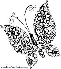 Free Flower Coloring Pages Flowers Color Really Hard Printable For
