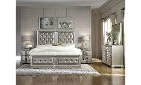 Furniture Couture Panel Bed Queen Pulaski Marilyn Bedroom Set