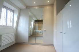 Bedroom  Bespoke Built In Fitted Wardrobe Mirrored Modern - Built in bedrooms