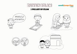 Muslim Girl Coloring Pages Printable Coloring Page For Kids