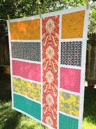 Best 25+ Big block quilts ideas on Pinterest | Easy quilt patterns ... & Big Bold Fabric Chunks quilt (This could be a really fun easy quilt and  experiment with different quilting motifs. Adamdwight.com