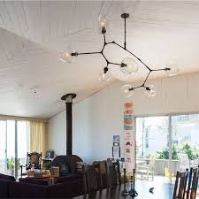 black chandelier lighting photo 5. Modern Chandelier Branching Bubbles Glass Lampshade For Living Room Bedroom Gold/Black Fixture-in Chandeliers From Lights \u0026 Lighting On Aliexpress.com Black Photo 5 S