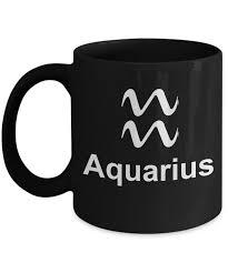 gifts for aquarius man zodiac mugs aquarius coffee cups gifts for virgo boyfriend 11 oz black mug aquarius gearbubble caign