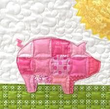 free joy the pig block pattern link below fun on the farm