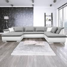 Ecksofa Mit Schlaffunktion Wohnlandschaft Couch Lorenzo Ii Modern Xl 06