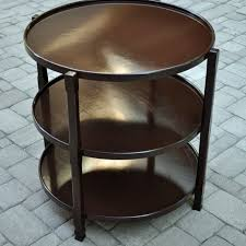 custom 28 three tiered round in table by hess wood creations custommade com