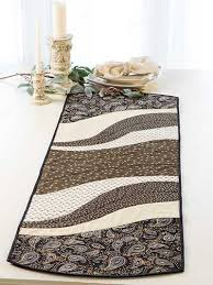 6 Fabric Ideas For The Most Versatile Table Runner – Quilting Cubby & easy table runner paisley print Adamdwight.com