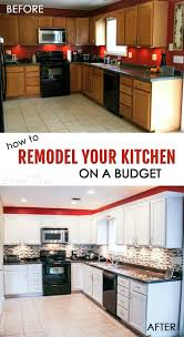Kitchen Remodel Budget How To Remodel Your Kitchen On A Budget Sarah Titus
