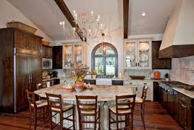 Kitchen Islands With Tables A Simple But Very Clever Combo