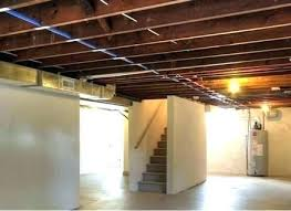 basement ceiling ideas cheap. Unfinished Basement Ideas On A Budget Ceiling Cheap . S