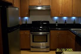 Under Counter Lighting Kitchen Kitchen Glossy Smoked Brown Finish Kitchen Cabinet With White