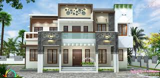 full size of chair magnificent modern house plan kerala 8 decorative flat roof modern house plan
