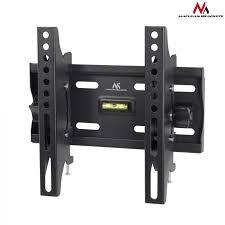 maclean mc 667 wall mounted tv bracket tilt flat led lcd 23 42