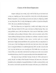 the great depression essay madrat co the great depression essay