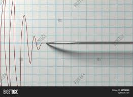 Chart Marking In Polygraph Polygraph Needle Image Photo Free Trial Bigstock