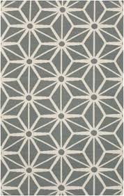 geometric rug pattern. Gray Geometric Fallon Rug From Surya Graphic Pattern G