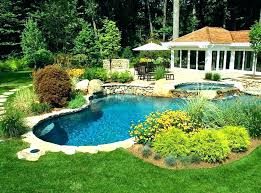 backyard pool designs landscaping pools. Backyard Pool Designs Landscaping Pools Landscape Around Fence For Small Backyards Ideas Create The