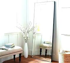 tall standing mirrors. Large Black Floor Mirror To Ceiling Mirrors Ornate Standing . Tall O