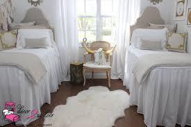 neutral tan white dorm room farmhouse stye shabby chic