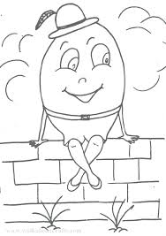 Humpty Dumpty Coloring Page Coloring Humpty Dumpty Coloring Pages