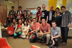 google tel aviv office tel. The Students At Google, With Daniel Rouach, His Collegue Laureen, Aude And Julie Google Tel Aviv Office