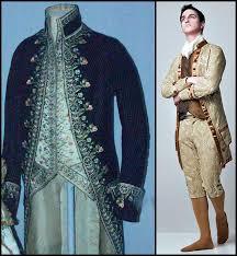 Стиль рококо одежда в стиле рококо фото Мужской костюм эпохи рококо
