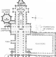 Cathedral Floor Plan  Cathedral Architecture  Pinterest Cathedral Floor Plans