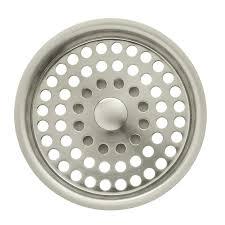 kohler sink strainer basket. KOHLER Duostrainer Vibrant Brushed Nickel Plastic Kitchen Sink Strainer Basket With Kohler