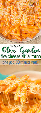 one pot creamy ziti pasta tastes even better than ziti dishes you d order from