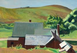 oval office paintings. Barn And Rolling Hills In Background. Oval Office Paintings 0