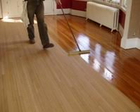 how to buff hardwood floors