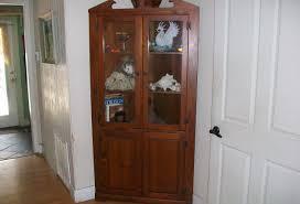 Corner Curio Cabinet Canada With Furniture Sofa Costco And Pulaski