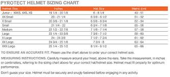 Just One You Size Chart Pyrotect Size Chart