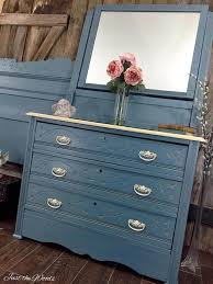 colorful painted furniture. Blue Painted Furniture, Dresser Ideas, Bedroom Furniture Ideas Colorful T