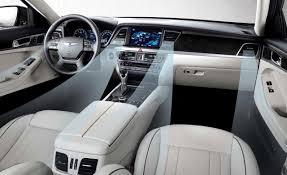 2015 hyundai genesis white. 2015 hyundai genesis sedan interior hd white