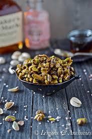bourbon maple toasted pistachios