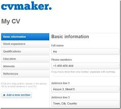 Create Resume Free Impressive Write Your Cv Online Free Create Resume For With Template How To