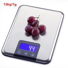 <b>15kg</b>/<b>1g Digital</b> Kitchen Scale for Baking 15kg <b>Electronic</b> Balance ...