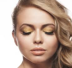go for the gold eye shadow