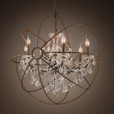 59 creative delightful chandelier globes crystal orb very popular