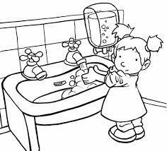 washing hands clip art black and white. Beautiful Hands For Washing Hands Clip Art Black And White B