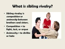 SIBLING RIVALRY IS IN BIBLE – GOD'S HOTSPOT