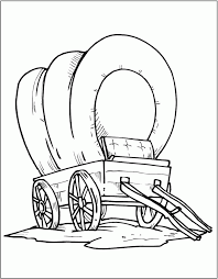 Wagon train on the oregon trail coloring page #13078867. Wagon Coloring Page Coloring Home